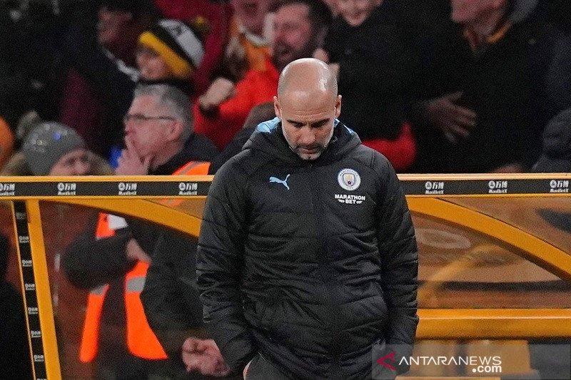 Peluang juara Man City sudah raib untuk Guardiola