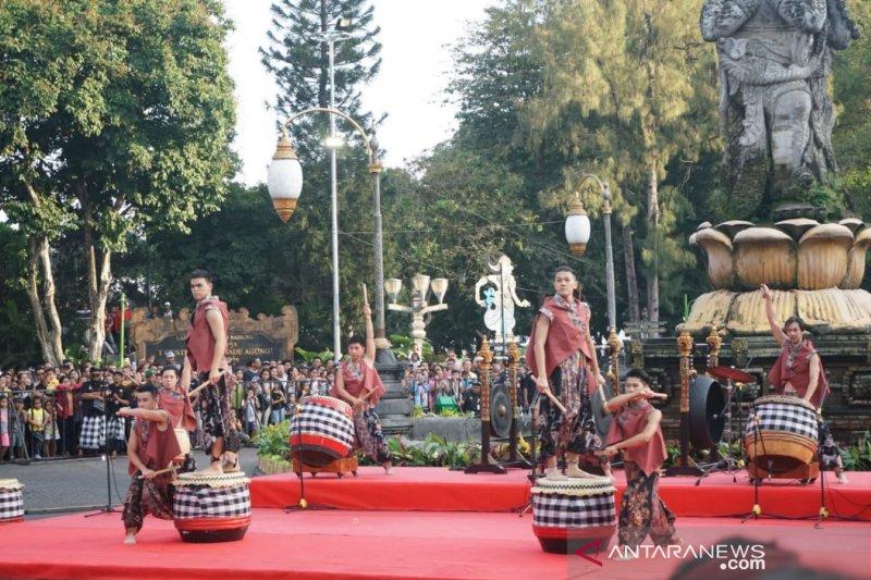 """""""Denpasar Festival"""" ke-12 digelar, ditandai pemukulan drum Jigu"""