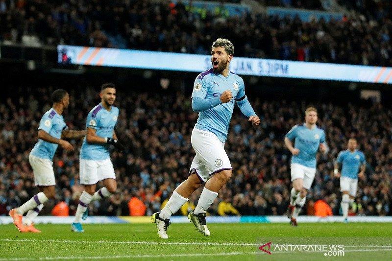 Manchester City hentikan rekor tak terkalahkan Sheffield United