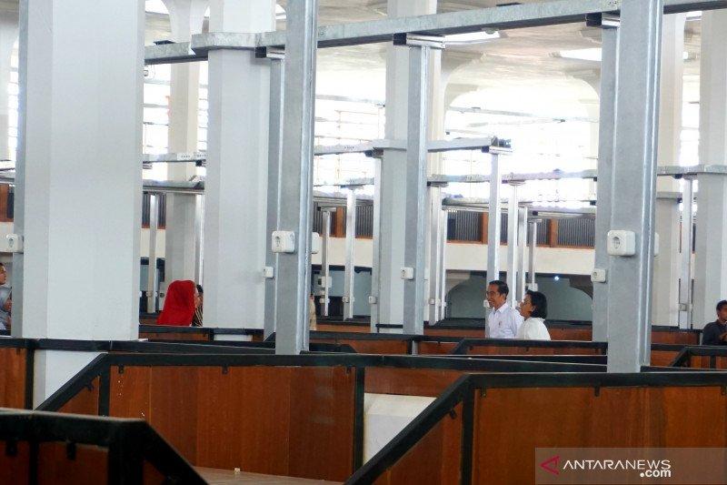 Presiden ke Pasar Djohar Semarang, cek progresnya