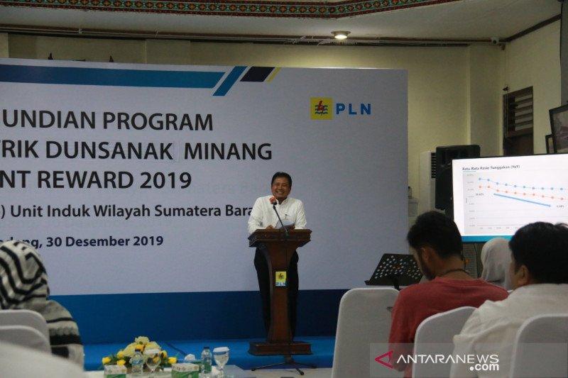 Program Rezeki Listrik Dunsanak Minang berakhir, hasil pengundian ada tiga pemenang