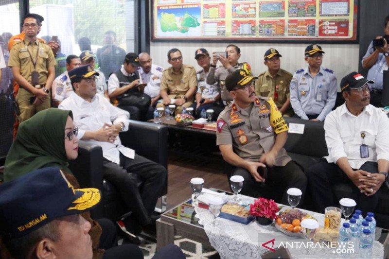 Manhub inspeksi lalu lintas Jalur Puncak Bogor
