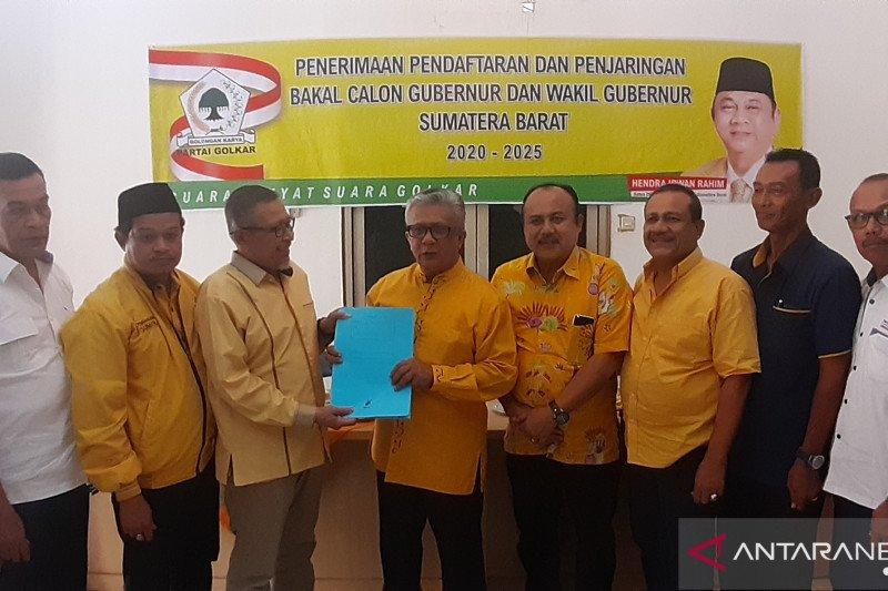 Golkar Sumbar masih buka pendaftaran bagi bakal calon kepala daerah