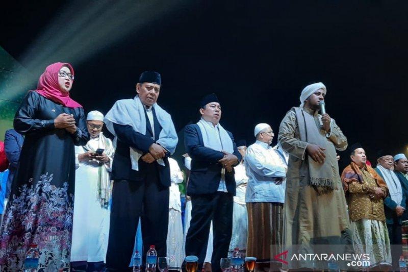 Bupati Bogor gelar acara mengaji dan muhasabah bersama di Cibinong