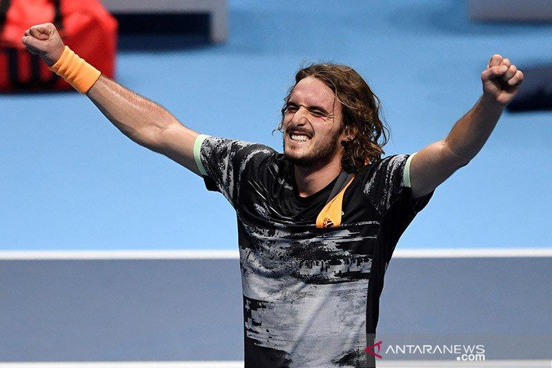 Tsitsipas masih mulus di babak pertama di Dubai Open