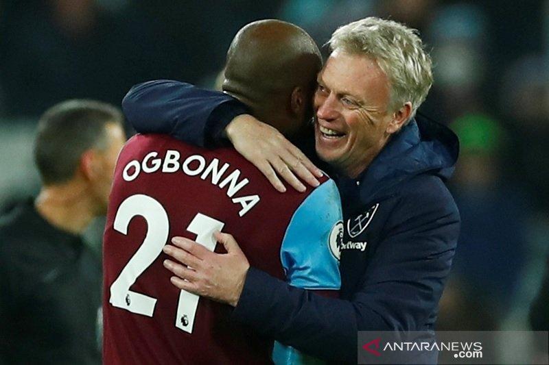 West Ham tandai kembalinya Moyes dengan hajar Bournemouth 4-0