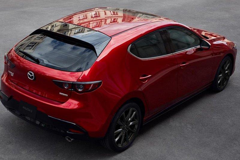Puluhan ribu Mazda3 ditarik karena masalah rem