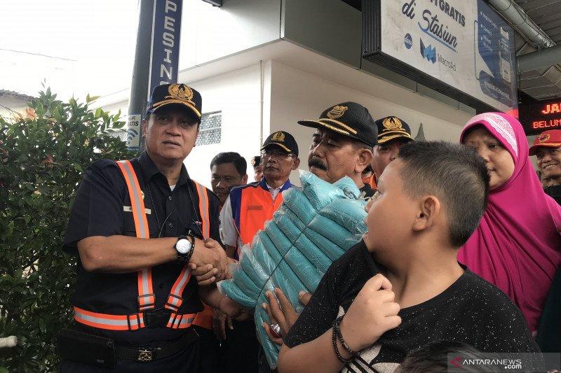 KAI siapkan kereta klinik bagi pengungsi banjir di Jakarta