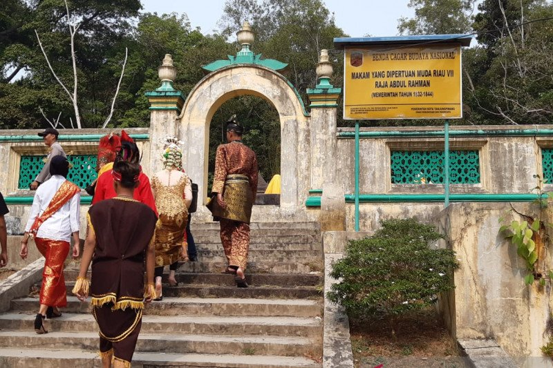 Pemprov Kepri benahi infrastruktur Pulau Penyengat