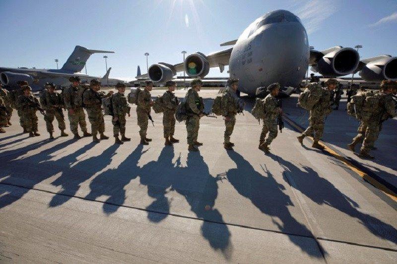 Jet-jet tempur AS lancarkan serangan udara di Suriah