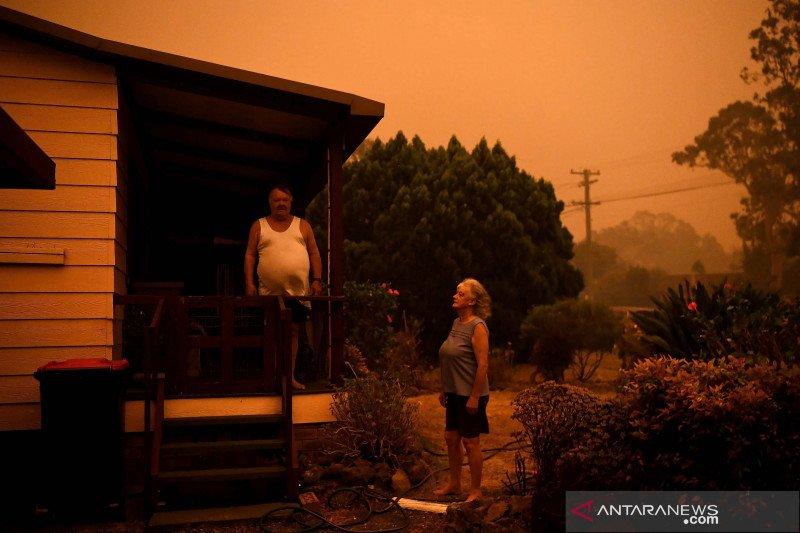 Kebakaran Australia mulai mereda