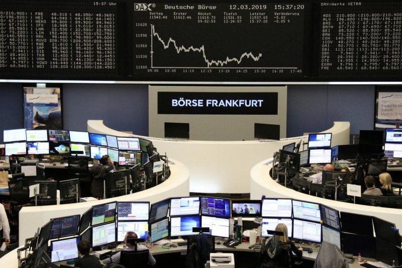 Saham Jerman berbalik,  indeks DAX 30 naik 1,44 persen