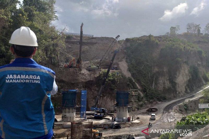 Pembebasan lahan proyek Tol Manado-Bitung IIB ditargetkan selesai Januari