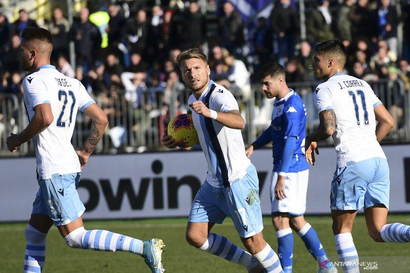 Lazio tundukkan Brescia