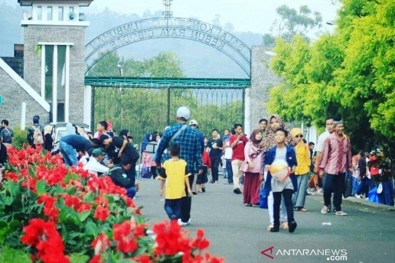 Selama libur Natal dan Tahun Baru Jumlah pengunjung ke Kebon Raya Cibodas meningkat