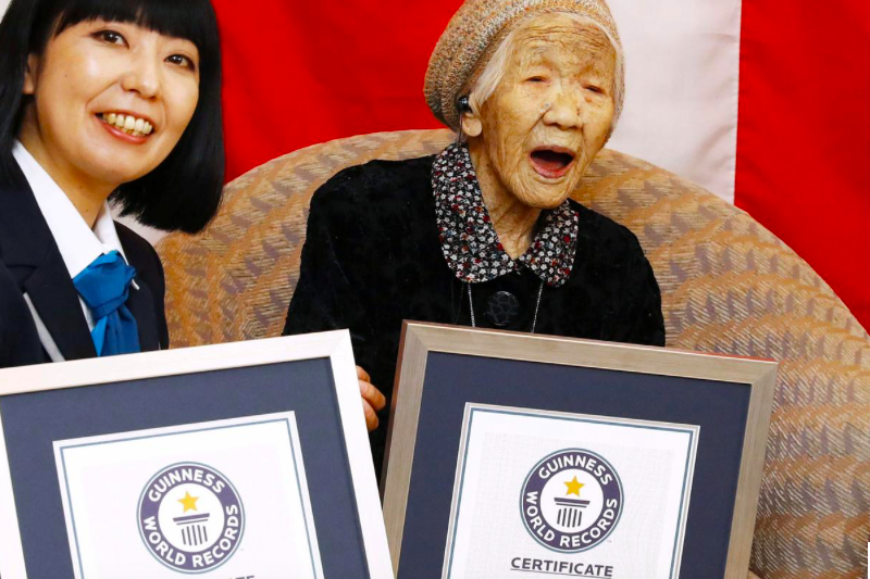Genap 117 tahun, seorang nenek perpanjang rekor orang tertua di dunia