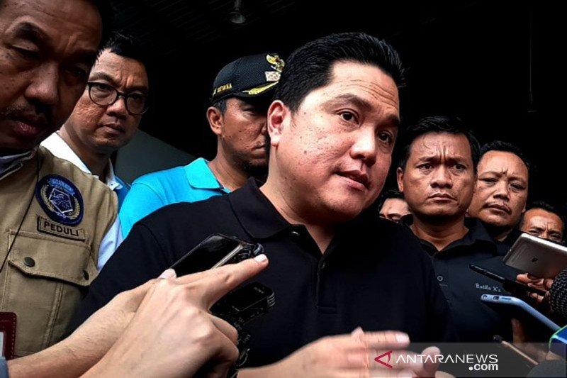 Bahas ibu kota baru, Erick Thohir kumpulkan sejumlah pimpinan BUMN