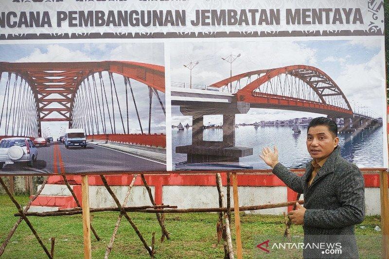 Pembangunan Jembatan Mentaya ditargetkan dimulai 2021