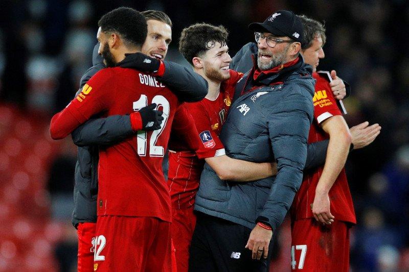 Liverpool dominasi tim 20 pemain pilihan FIFA