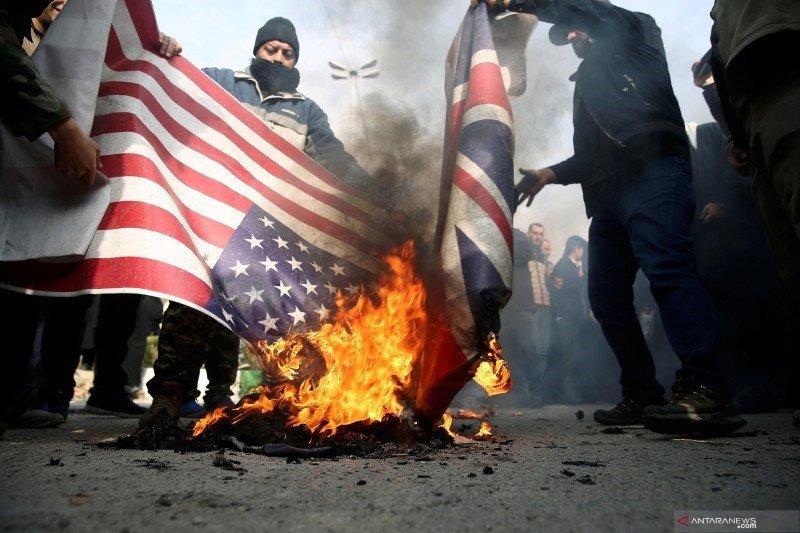 Sentimen anti-AS semakin mendunia pasca-pembunuhan Jenderal Iran Qassem Soleimani