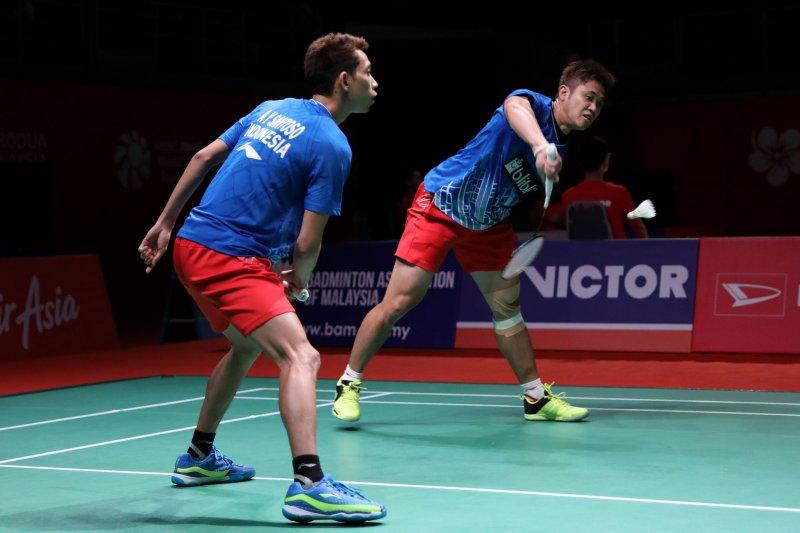 Wahyu/Ade tumbang dibabak pertama Indonesia Master 2020