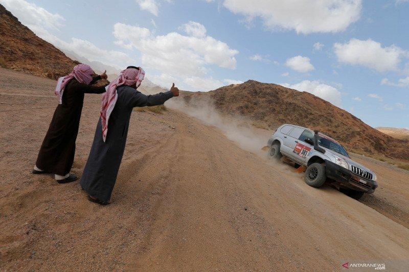 Dakar kembali jelajahi gurun Arab Saudi dengan rute baru