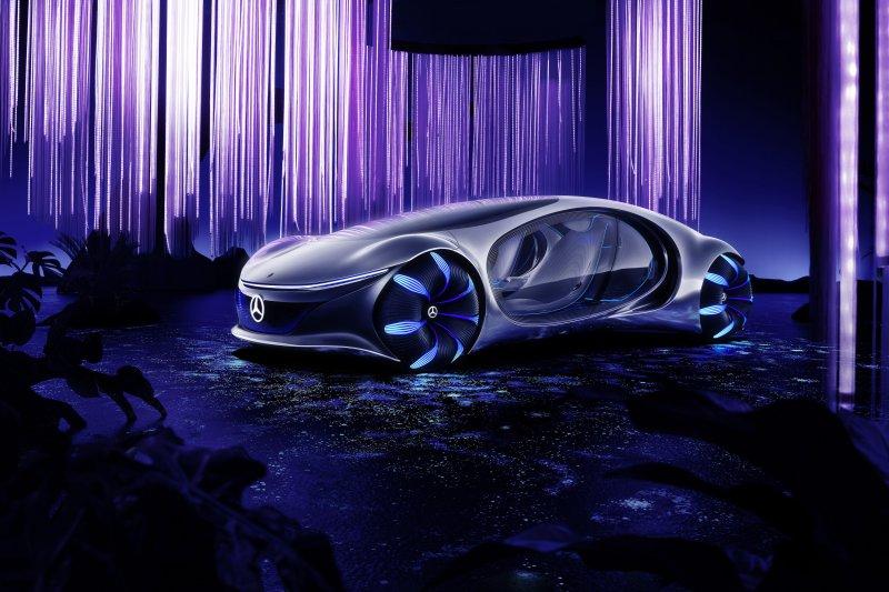 "Mobil otonom Mercedes-Benz terinspirasi dari ""Avatar"""