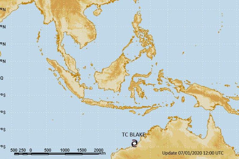Siklon tropis Blake berpotensi tingkatkan curah hujan di DIY
