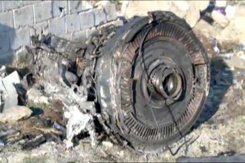 Ukraina koordinasi dengan Iran terkait pesawat yang tewaskan 176 orang