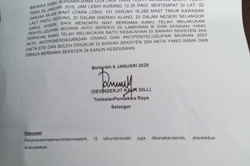 WNI usia 60 tahun asal Tanjung Balai Karimun divonis 10 tahun penjara di Malaysia