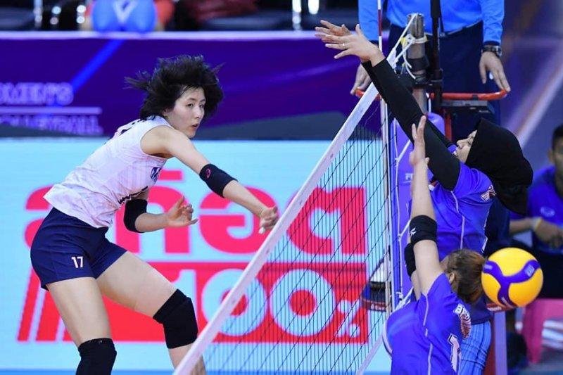 Tim voli putri Indonesia kalahkan Tim Iran dalam Olimpiade 2020