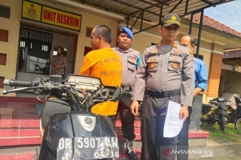 Polsek Cakranegara menangkap pencuri kendaraan kurang dari 24 jam
