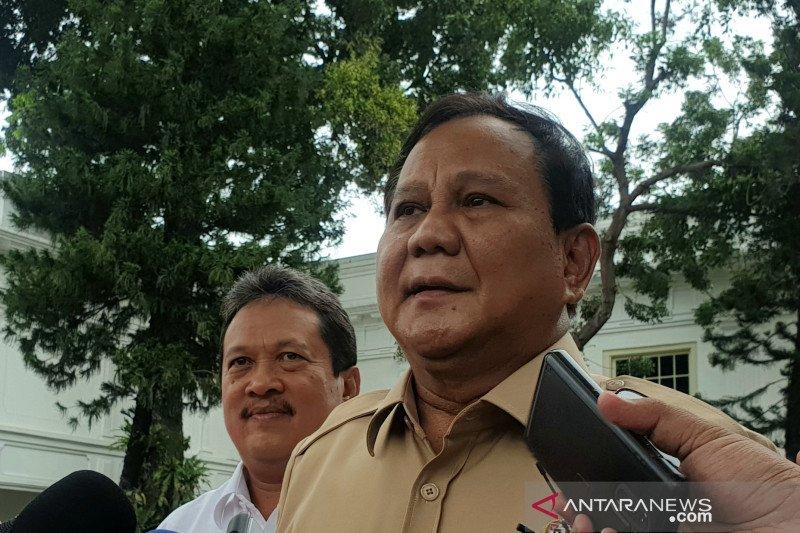 Menhan Prabowo: Kedaulatan Indonesia di Natuna harga mati