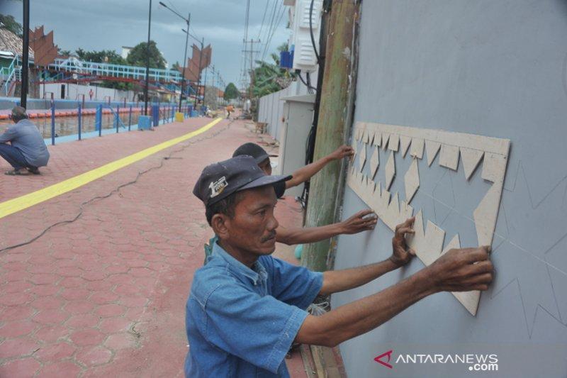 Renovasi objek wisata Sungai Sekanak