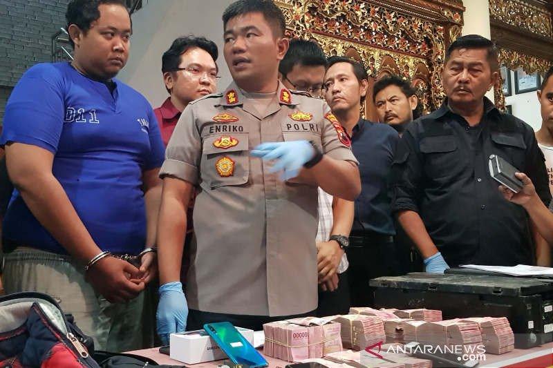 Bobol ATM Rp707 juta, pegawai PT Persada Prima Mandiri diringkus