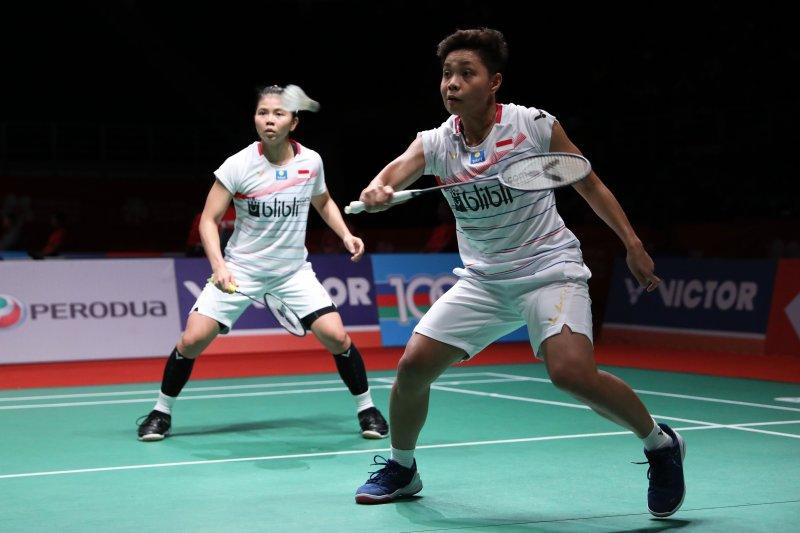 Kalahkan Chang/Kim, Greysia/Apriyani melaju ke semifinal Malaysia Masters