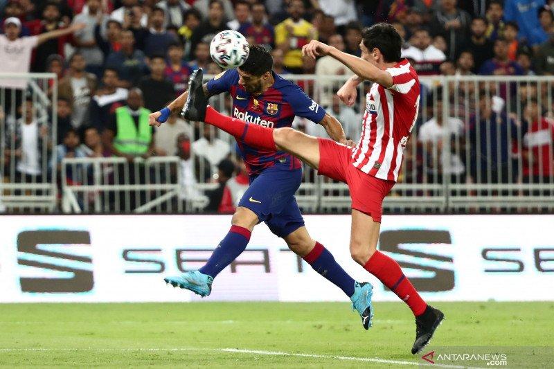 Atletico Madrid berhasil singkirkan Barcelona dari Piala Super Spanyol