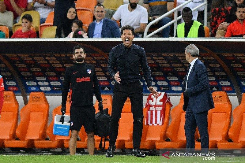 Simeone tetap waspadai Madrid walau Bale dan Benzema absen