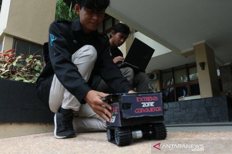 Rescue UGV, robot penemu korban bencana, ciptaan mahasiswa UNS
