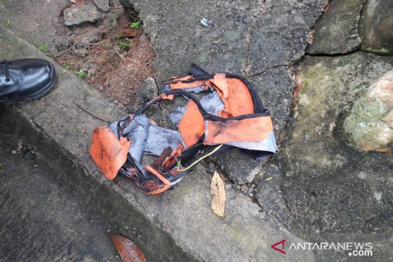 Bom dalam tas meledak di Bengkulu