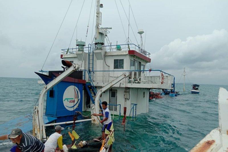 Nahkoda dan ABK kapal kargo  tenggelam berhasil diselamatkan