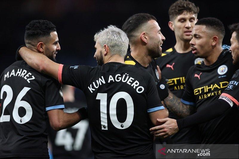 Manchester City hancurkan Aston Villa demi naik ke posisi kedua