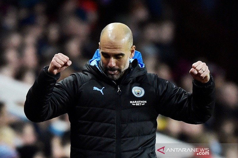 Manchester City gusur Leicester, Aguero gusur Thierry Henry