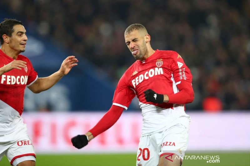 Robert Moreno bawa Monaco tahan imbang PSG 3-3