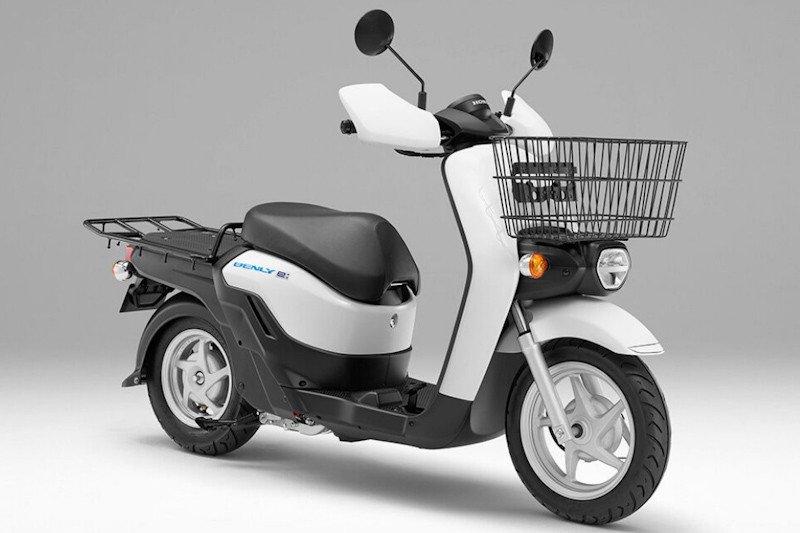 April, Honda pasarkan skuter listrik BENLY