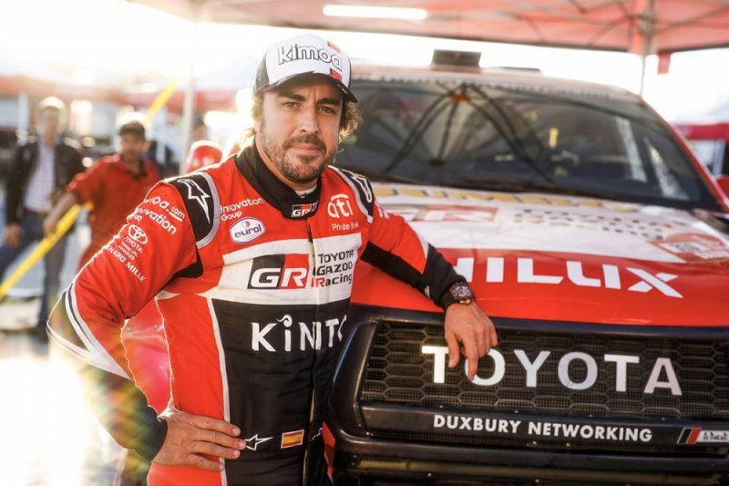 Debut di Dakar, Alonso mulai nyaman libas gurun pasir Arab Saudi