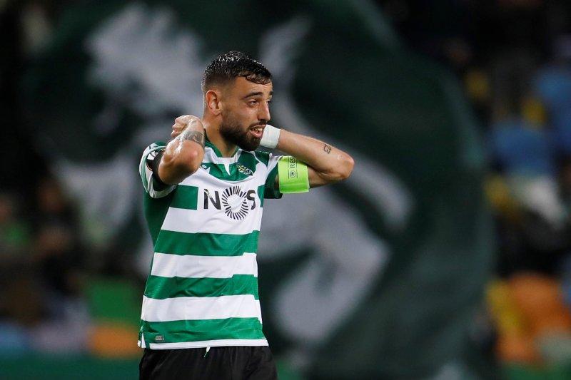 MU bakal jadi beli gelandang Sporting Bruno Fernandes