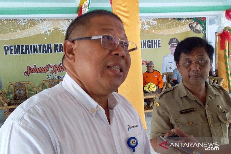 Pertamina kembali serahkan bantuan bagi korban bencana di Sangihe