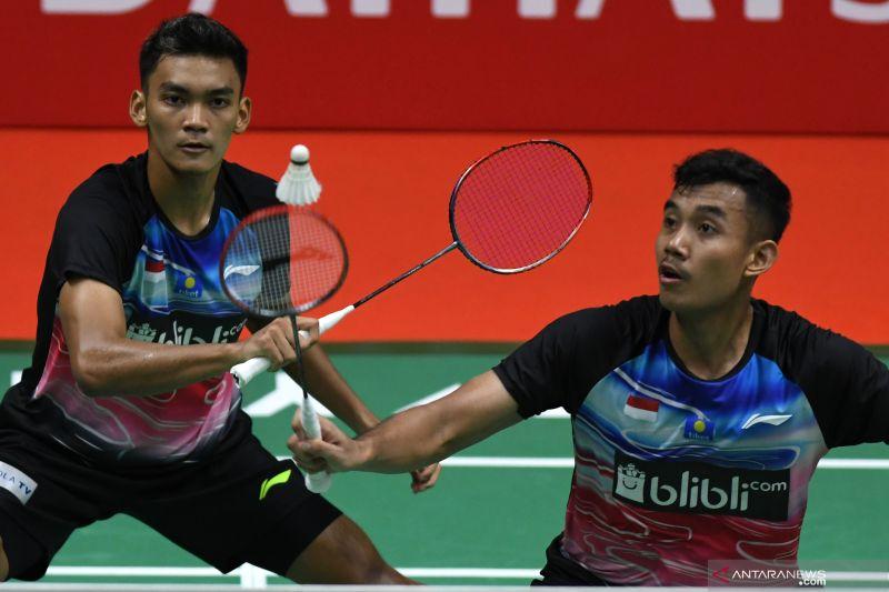 Dua ganda putra Indonesia terhenti di babak kedua Thailand Masters