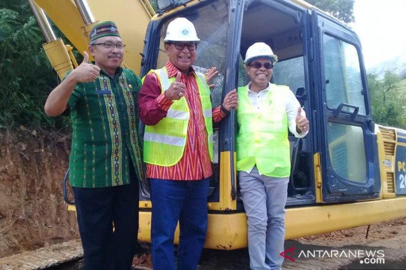 Jalan provinsi di Manggarai Timur tidak mangkrak